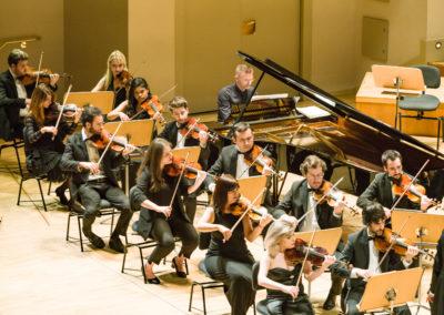 Violines de la Orquesta
