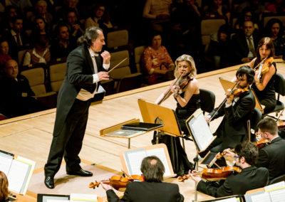 Pascual Osa con la concertino